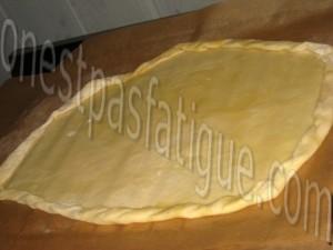 tarte fine tomate-basilic-jambon parme base moutarde_etape 4