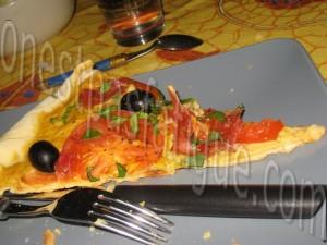 tarte fine tomate-basilic-jambon parme base moutardeb