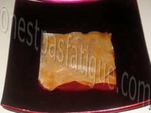 millefeuille mousse chocolat blanc et framboises_etape 7