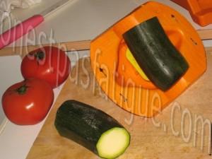 tartine rustique aux legumes et 2 fromages et salade gourmande_etape 2