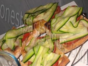 tartine rustique aux legumes et 2 fromages et salade gourmande_etape 13