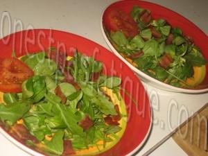 tartine rustique aux legumes et 2 fromages et salade gourmande_etape 14