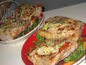 tartine rustique aux legumes et 2 fromages et salade gourmande_etape 15