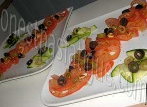 tartare tout tomates courgette et tartine chorizo grille_etape 5