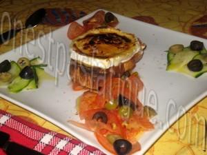 tartare tout tomates courgette et tartine chorizo grille_etape 6