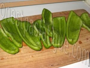 brochettes melon et poivron marine_etape 1