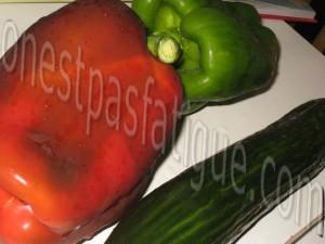 gaspacho andalou_etape 2