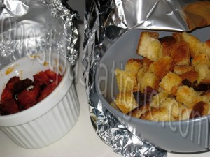 salade express tomate feta facon verrine et tartine grillee roquefort_etape 5