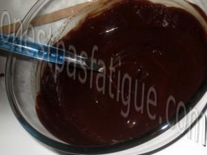 mousse chocolat poires_etape 1