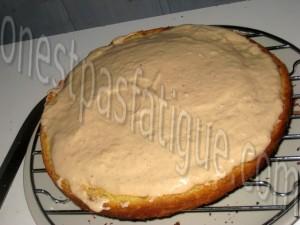 gateau deux mousses glaçage toblerone_etape 2