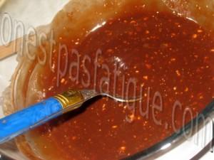 gateau deux mousses glaçage toblerone_etape 5