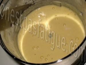 chapon fermier LR farce pomme-raisin-foie gras sauce chasseur_etape 8