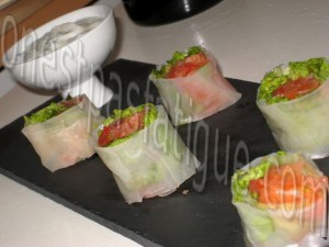 salade comme rolls
