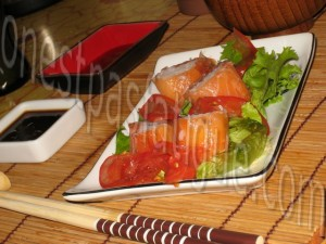 rolls saumon fumé
