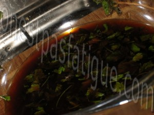 wok poulet miel sésame_etape 1