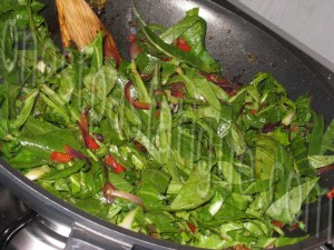wok poulet miel sésame_etape 8