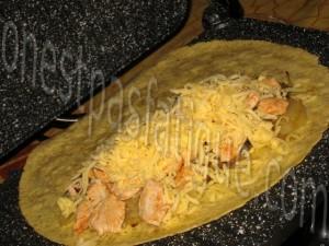 quesadillas poulet_etape 3