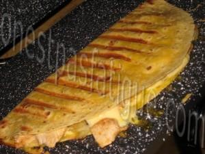 quesadillas poulet_etape 6
