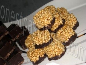 bouchées d'avoine caramel