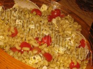 salade de pate tomate feta