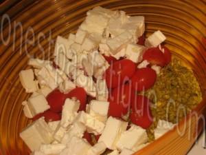salade de pate tomate feta_etape 3