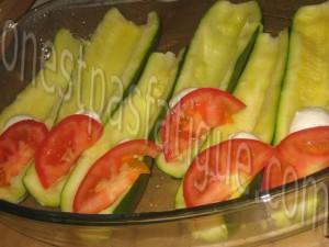 courgettes farcies tomates mozzarella chorizo_etape 5