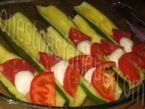 courgettes farcies tomates mozzarella chorizo_etape 7
