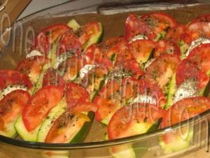 courgettes farcies tomates mozzarella chorizo_etape 8