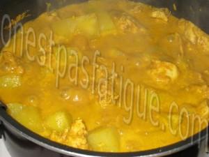 curry vietnamien de poulet_etape 7