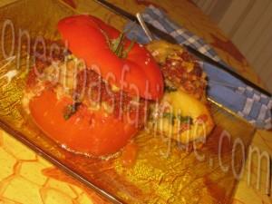 pommes de terre et tomates farcies bis