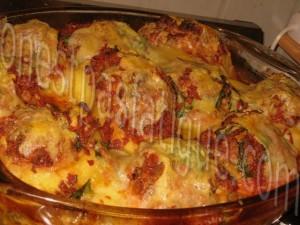 pommes de terre et tomates farcies_etape 8