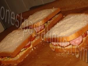 Croque express Montbeliard et moutarde_etape 1
