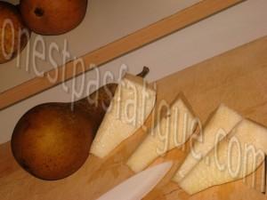 Galette poires infusees et rochers coco actifry_etape 2