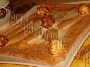 Galette poires infusees et rochers coco_glace confiture lait