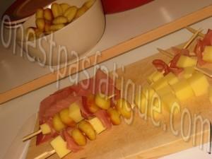 brochettes gnocchis_etape 1