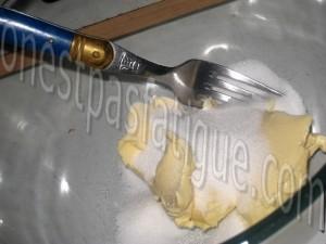 cookies caramel beurre sale_etape 3
