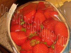 duo mousses fraises coco_etape 1