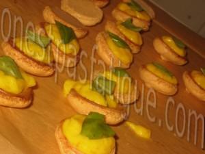 macarons peche safran basilic_etape 27