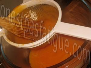 creme glacee vanille coulis melon_etape 11