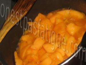 creme glacee vanille coulis melon_etape 4