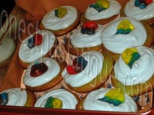 cupcakes schtroumpf