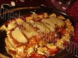 Roestis Appenzeller poire épicée et bouchées Monbéliard bleu noix_photo wall
