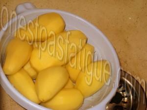 Roestis Appenzeller poire épicée et bouchées Monbéliard bleu noix_photo wall_etape 1
