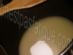 terre mer gambas caramel passion terrine foie gras mangue_etape 2