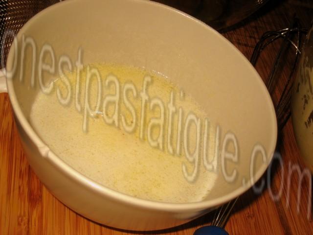 Recette gateau magique mangue