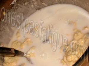 pancakes canneberges ricotta_etape 5