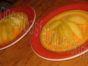 Pommes Calvados infusion ananas menthe comme une tarte sablee_etape 7