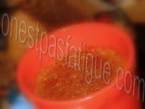 mug cake caramel