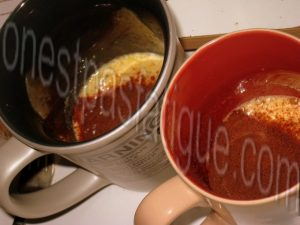mug cake caramel_etape 3