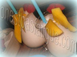 Milk shake coconut caramel passion